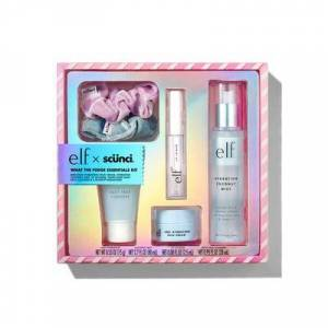 e.l.f. Cosmetics What The Fudge Essentials Kit - Vegan and Cruelty-Free Makeup - Holiday Gift Sets