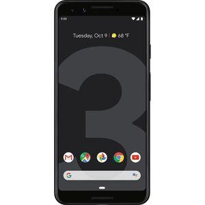 (Unlocked, Black) Google Pixel 3 Dual Sim   64GB   4GB RAM