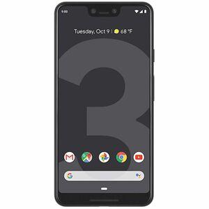 (Unlocked, Black) Google Pixel 3 XL Dual Sim   128GB   4GB RAM
