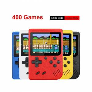 Unbranded Retro Portable Mini Handheld Game Console 8-Bit 3.0 Inch Color LCD Red