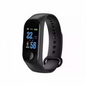 vedaxin Smart Band Watch Bracelet Wristband Fitness Tracker Blood Pressure HeartRate M3(