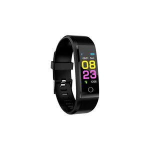 Relozaa (Black) Men Women Heart Rate Monitor Smart Watch