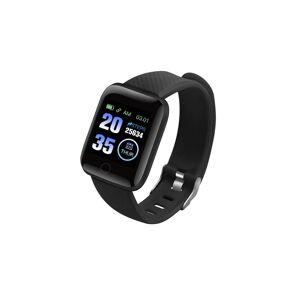 Relozaa (Black) Smart Blood Pressure Fitness Tracker Watch