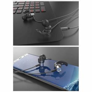 Custom Whip Styling Sony Xperia L4 Black 3.5mm Jack Wired In-Earphone with Built-in Mic & Volume Con