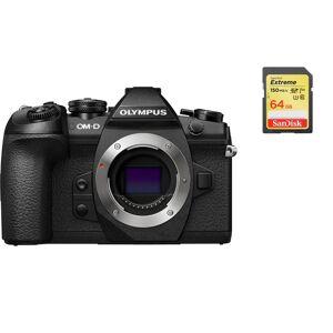 Olympus E-M1 II Body Black + SanDisk Extreme 64G SD card