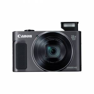 Canon PowerShot SX620 HS Digital Camera - Black   25x Optical Zoom Camera