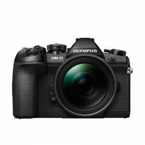 Olympus OM-D E-M1 Mark II Compact System Camera with 12-40 mm Lens Kit - Black