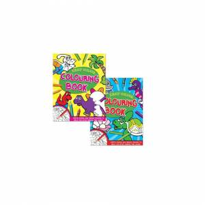 The Home Fusion Company Easy Colour Junior Colouring Book Large Sharp Images For Kids