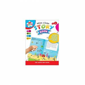 Unbranded Kids Create Wipe Clean Create Your Own Story Book