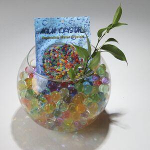 Aqua Crystal (Mixed, 20 grams) AQUA CRYSTAL Expanding Water Beads, Bio Gel Balls for Wedding
