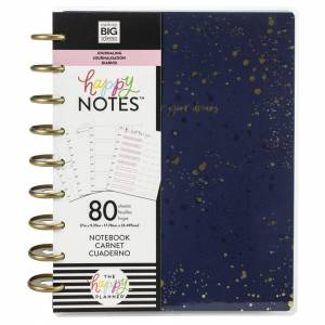 Me & My Big Ideas Happy Planner Medium Journaling Notebook W/80 Sheets-Go After Your Dreams