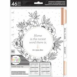 Me & My Big Ideas Happy Planner Medium Extension Pack -Home