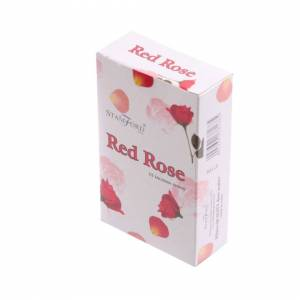 Stamford Hex Incense Cones - Red Rose