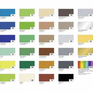 Unbranded Photo Card 50 x 70 Cm 300g / M2 - 1 Arch - White, Folia Bringmann