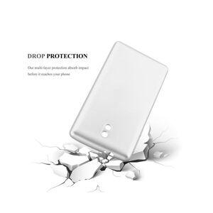 Cadorabo (METALLIC SILVER) Cadorabo Case for Nokia 3 2017 case cover