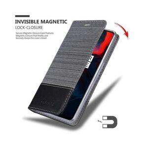 Cadorabo (GREY BLACK) Cadorabo Case for OnePlus 6 case cover