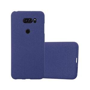 Cadorabo (FROST DARK BLUE) Cadorabo Case for LG V30 case cover