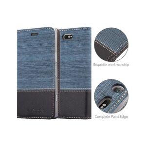 Cadorabo (DARK BLUE BLACK) Cadorabo Case for Sony Xperia XZ1 COMPACT case cover