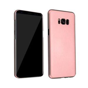Cadorabo (METAL ROSE GOLD) Cadorabo Hard Case for Samsung Galaxy S8 case cover
