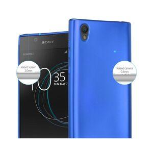 Cadorabo (METALLIC BLUE) Cadorabo Case for Sony Xperia L1 case cover