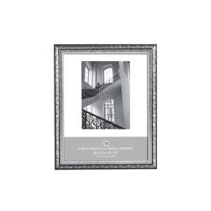 The Home Fusion Company Picture Frame - Swirl Design - Silver 10x8
