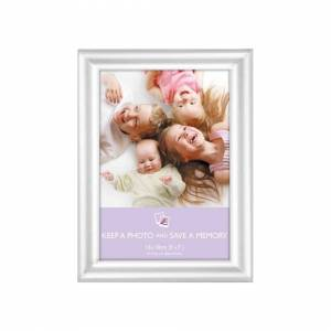The Home Fusion Company Picture Frame - Silver Rounded 5x7