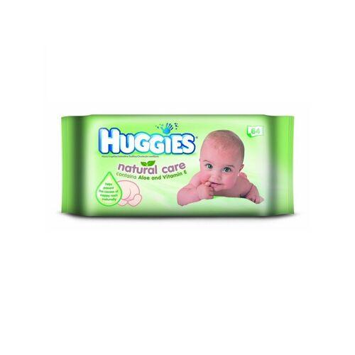 Huggies Natural Care 64 Wipes