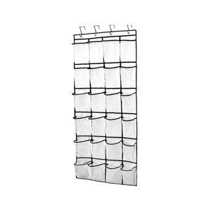 Unbranded (White) 24 Pockets Hanging Over Door Bag Box Shoe Rack Hanger Storage Tidy Space
