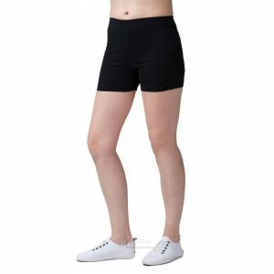 JS One (Black, 120cm / Age 6-7 Years) Girls Plain Breathable Modal Stretchy Casual Spor