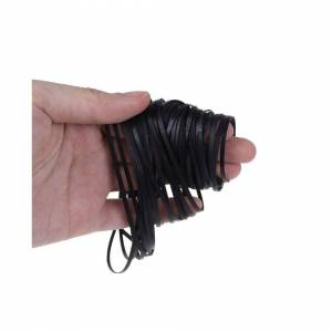 Slowmoose (As Seen on Image) 50PCS Universal Assorted Common Flat Rubber, Mix Cassette Tap