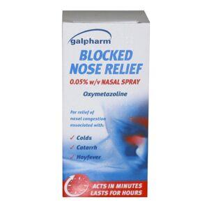 Galpharm Blocked Nose Relief Spray 15ml