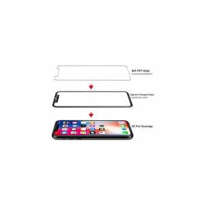 Gadgets2Go1 3D Curved Full Coverage Tempered Glass Screen Protector For iPhone 11 Pro & iPho