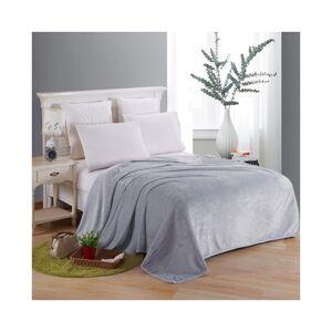 Unbranded (Grey, 70*100cm) Warm Soft Large Polar Fleece Throw Blanket Sofa Bed Room Travel
