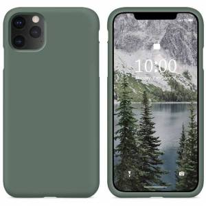 FinestBazaar (Green, For Apple iPhone 12 Mini) New Shockproof Bumper Clear TPU Case Tempered