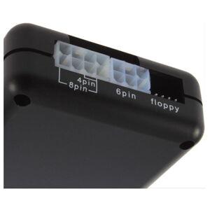 WT PC Power Supply Unit PSU Mini Tester ATX BTX PCI SATA HDD LED Display