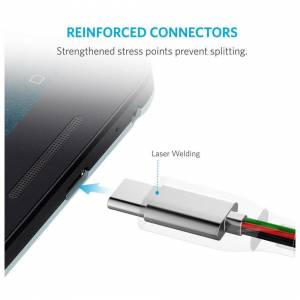 AirBot 3M USB-C 3.1 Fast Charging & Sync Data Transfer Lead Cable For Samsung Galaxy S2