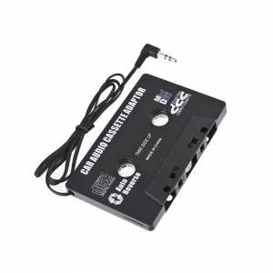 Unbranded 3.5mm Aux Car Cassette Audio Tape Adapter for iPhone iPod MP3 Radio Mobile Phone