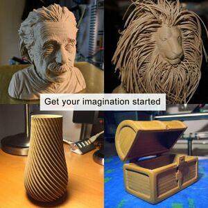 ACENIX® Coffee PLA 3D Printer Filament 1.75mm 1KG Spool Filament for 3D Printing
