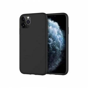 Apple Case For Apple iPhone 11 Pro Black Silicone Gel Cover