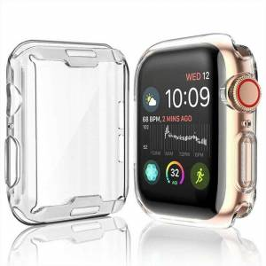 FinestBazaar (40mm) TPU Gel Case For Apple Watch Responsive Touch Full Screen Curved Edge Pro
