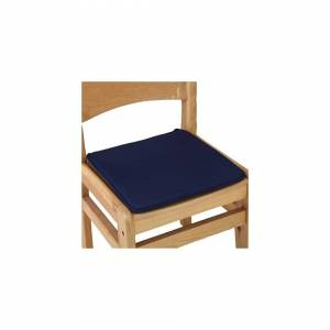 Slowmoose (navy, 40x40cm) Solid Color Cotton Blend Cushions - Dining, Garden, Home, Kitche