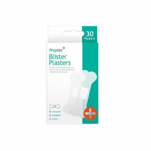 Unbranded 30 x Natural Breathable Blister Waterproof Plasters Breathable Cuts Bandaid
