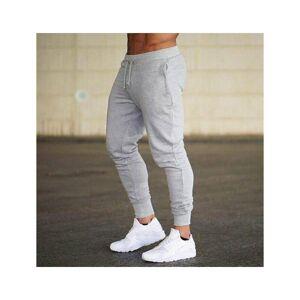 Slowmoose (Dark gray/XXL) New Jogging Pants Sport Sweatpants Running Cotton Trackpants Sli