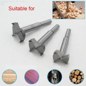 Slowmoose (25mm) Forstner Carbon Steel Boring Drill Bits, Woodworking Self Centering Hole