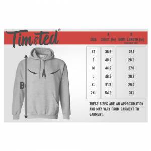 Tim And Ted (XL, Navy) 40th Birthday Hoodie Legend Since 1981 Slogan Forty Hooded Jumper