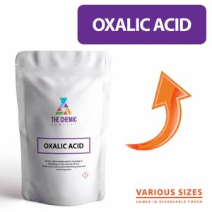 The Chemic Company (1kg) Oxalic Acid Crystals PURE GRADE Chemical Powder ALL SIZES including 1KG