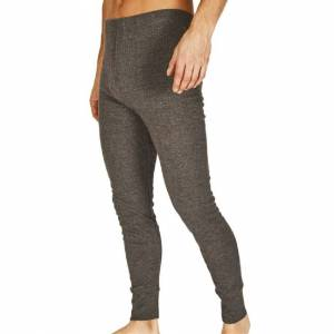 Absolute Apparel (M, Charcoal) Absolute Apparel Mens Thermal Long Johns