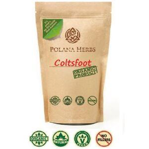 polanaherbsshop (100g pack - 50 cups) Organic Bio Coltsfoot Loose Leaf Herbal Tea - Tussilago fa