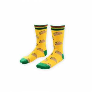 Unbranded New Arrival Fashion Men Socks Crew Long Cactus Pineapple Pine Print Skate Casual