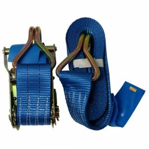 """Unbranded 1"""" x 8m Toolzone Heavy Duty Ratchet Tie Down - Strap Lashing 400kg Long Roof -"""